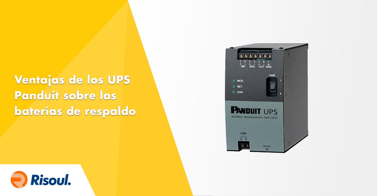 Sistema de alimentación ininterrumpida (UPS) PANDUIT: Ultracapacitores VS  Baterias