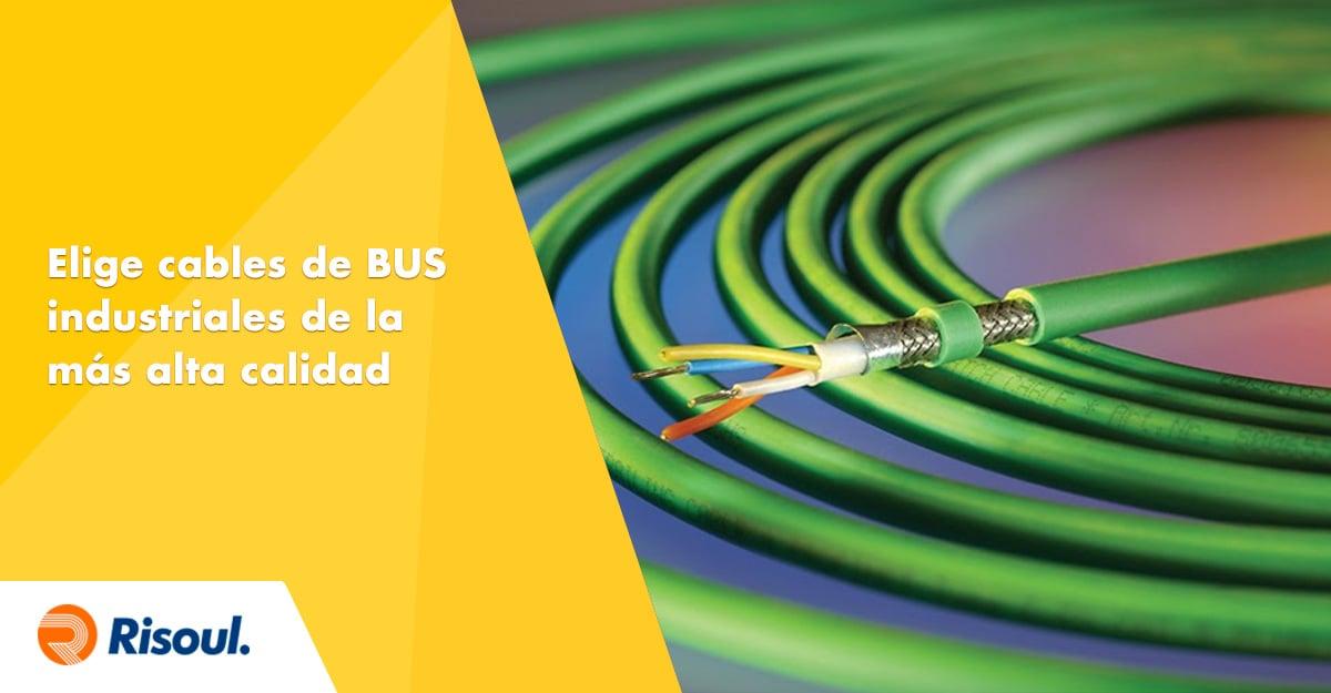 Elige cables de BUS industriales de la más alta calidad