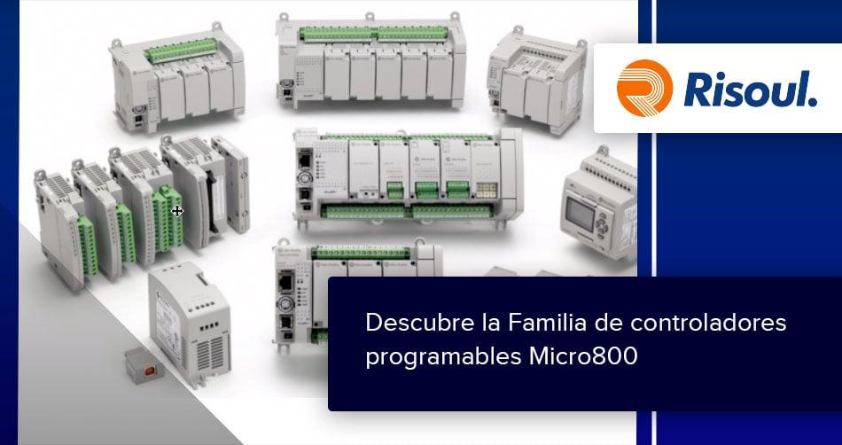 Descubre la Familia de controladores programables Micro800