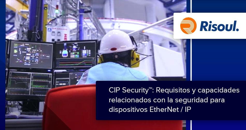 art-768-2CIP Security™: Requisitos y capacidades