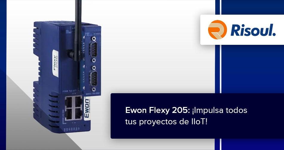 Ewon Flexy 205: ¡Impulsa todos tus proyectos de IIoT!