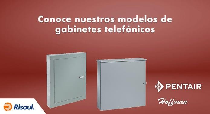 Conoce nuestros modelos de gabinetes telefónicos Hoffman