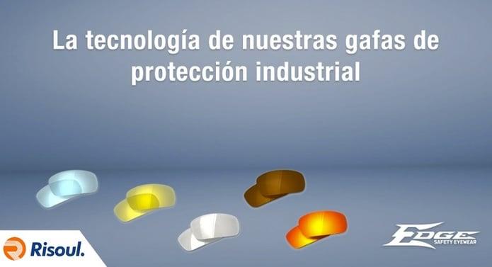 La tecnología de nuestras gafas de protección industrial Edge Eyewear