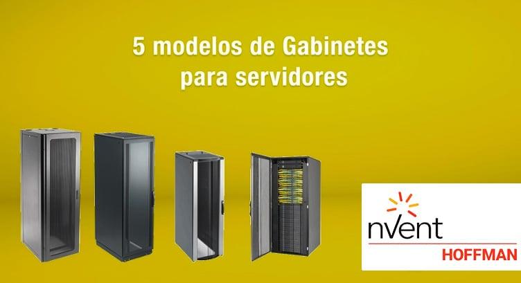 5 modelos de Gabinetes Hoffman para servidores