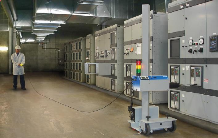 Inserción y extracción segura en tableros de distribución de baja y media tensión