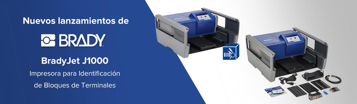 BradyJet J1000 - Impresora para Identificación de Bloques de Terminales Brady