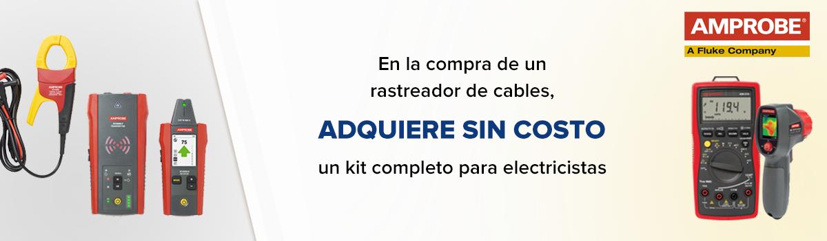 Compra un rastreador AT-6030 o AT-6020 y obtén sin costo un kit completo para electricista