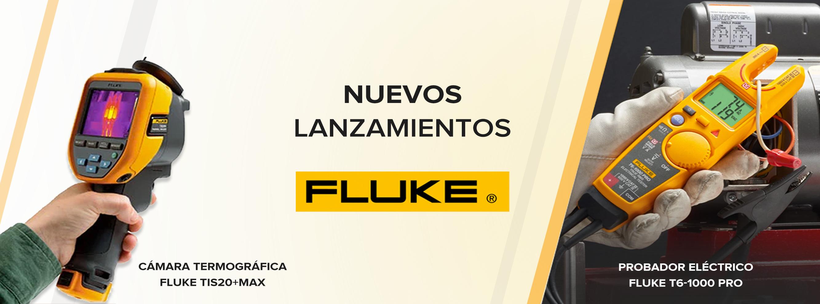 Nuevos lanzamientos de Fluke