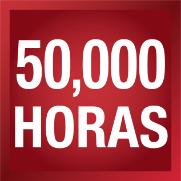 50,000 horas