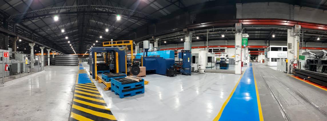 Actualización de alumbrado industrial en planta de Monterrey