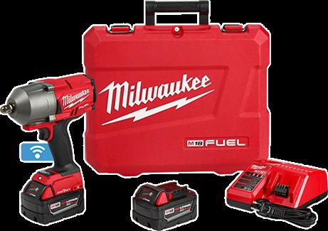 """M18 FUEL™ con llave de impacto de alto torque ONE-KEY™ Kit de retención de clavija de 1/2"""""""
