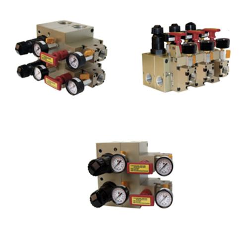 Colectores de distribución de aire