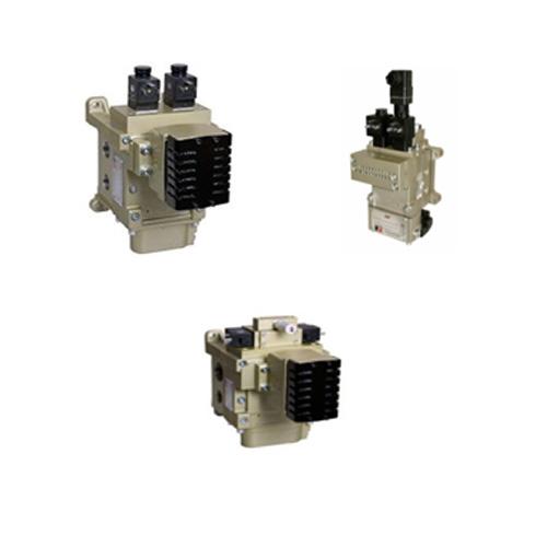 Válvulas de control confiable para sistemas de embrague / freno En prensas de estampado mecánico