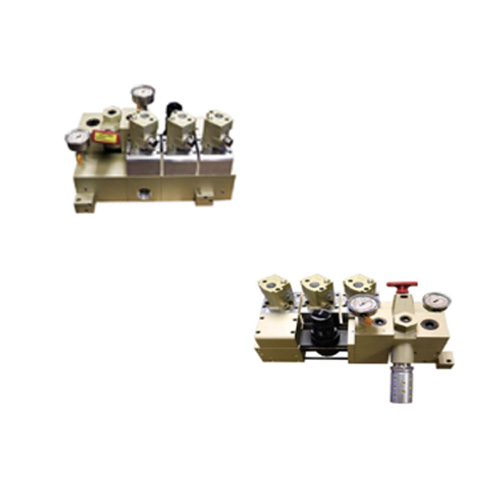 Contrapeso automático; Aplicaciones de control automático de presión.